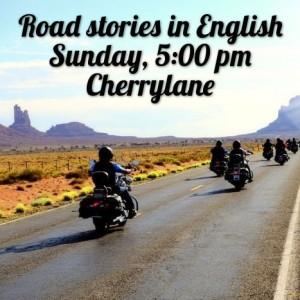 28 мая 17:00 Storytelling: Road stories